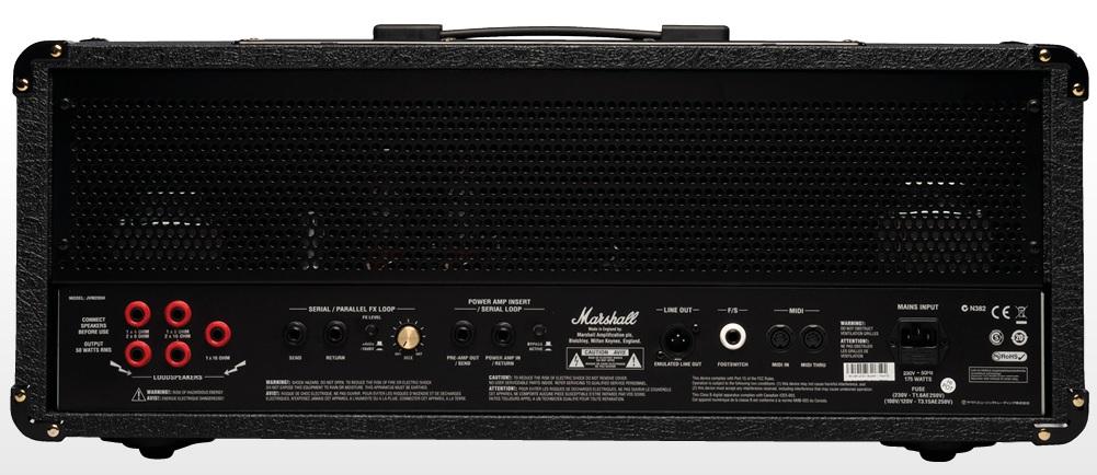 Marshall JVM205H 50-watt 2-channel  - GuitarParts Brasil