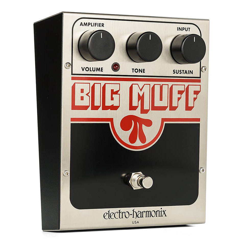 Pedal Electro-harmonix Big Muff Pi Distortion/Sustainer