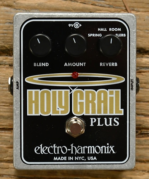 Pedal Electro-Harmonix Holy Grail Plus Variable Reverb  - GuitarParts Brasil