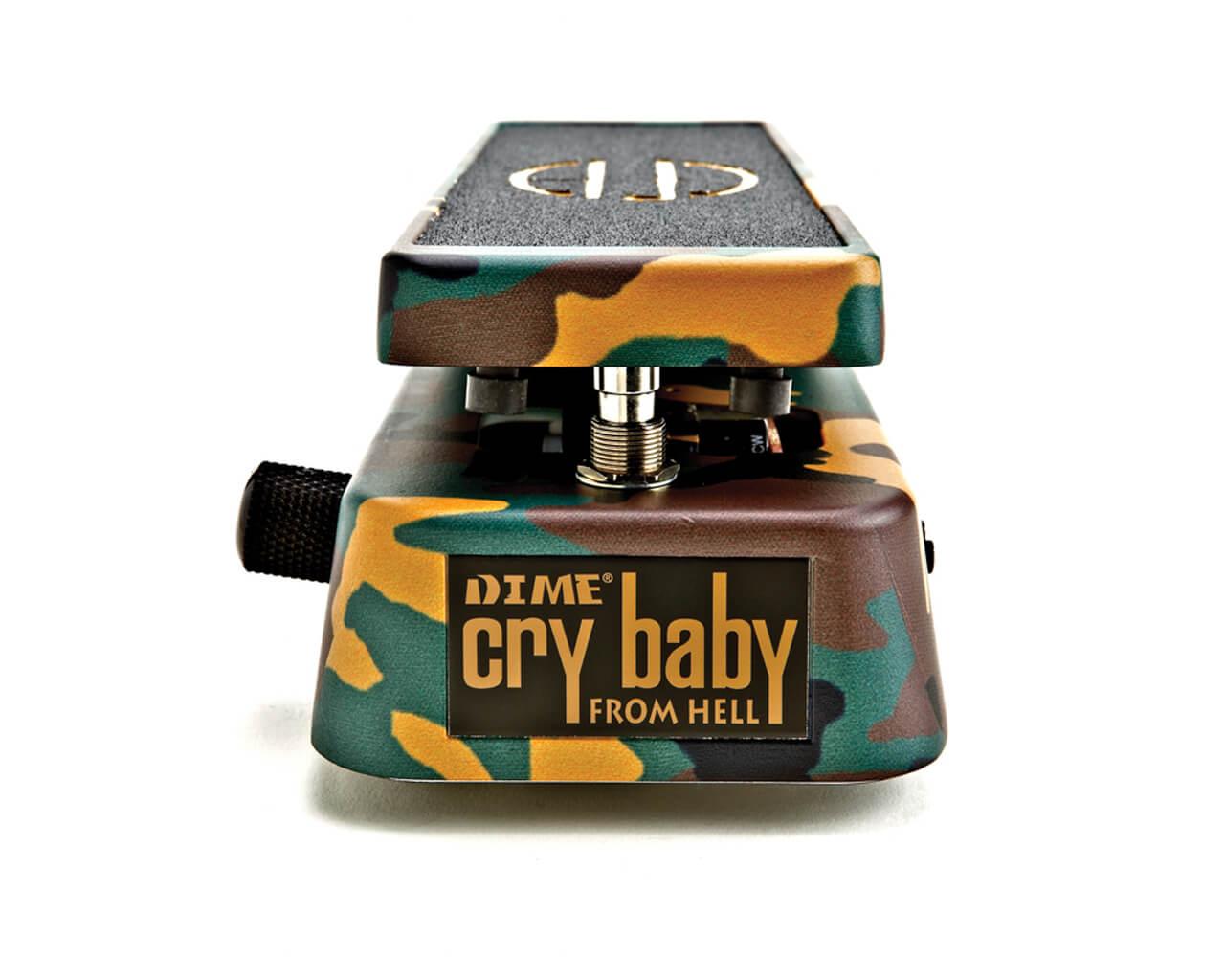Pedal Wah Wah Dunlop Cry Baby Signature Dimebag Darrell Db01  - GuitarParts Brasil