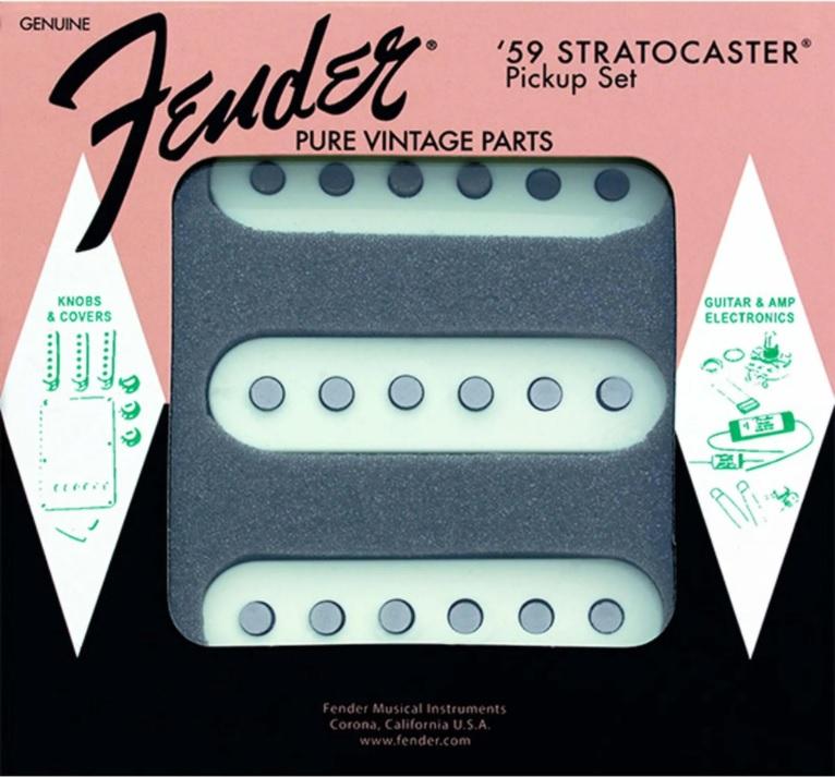 Set Captadores Fender Pure Vintage