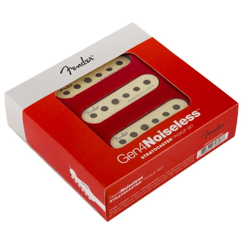 Set de Captadores Fender Gen 4 Noiseless Stratocaster  - GuitarParts Brasil