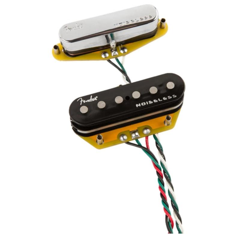 Set de Captadores Fender Gen 4 Noiseless Telecaster  - GuitarParts Brasil