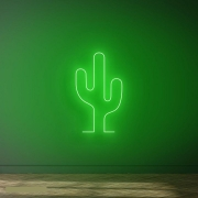 Cacto em Neon Led