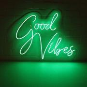 Good Vibes em Neon Led