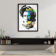 Quadro Ayrton Senna - Pintura