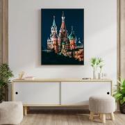 Quadro Catedral de São Basílio - Rússia
