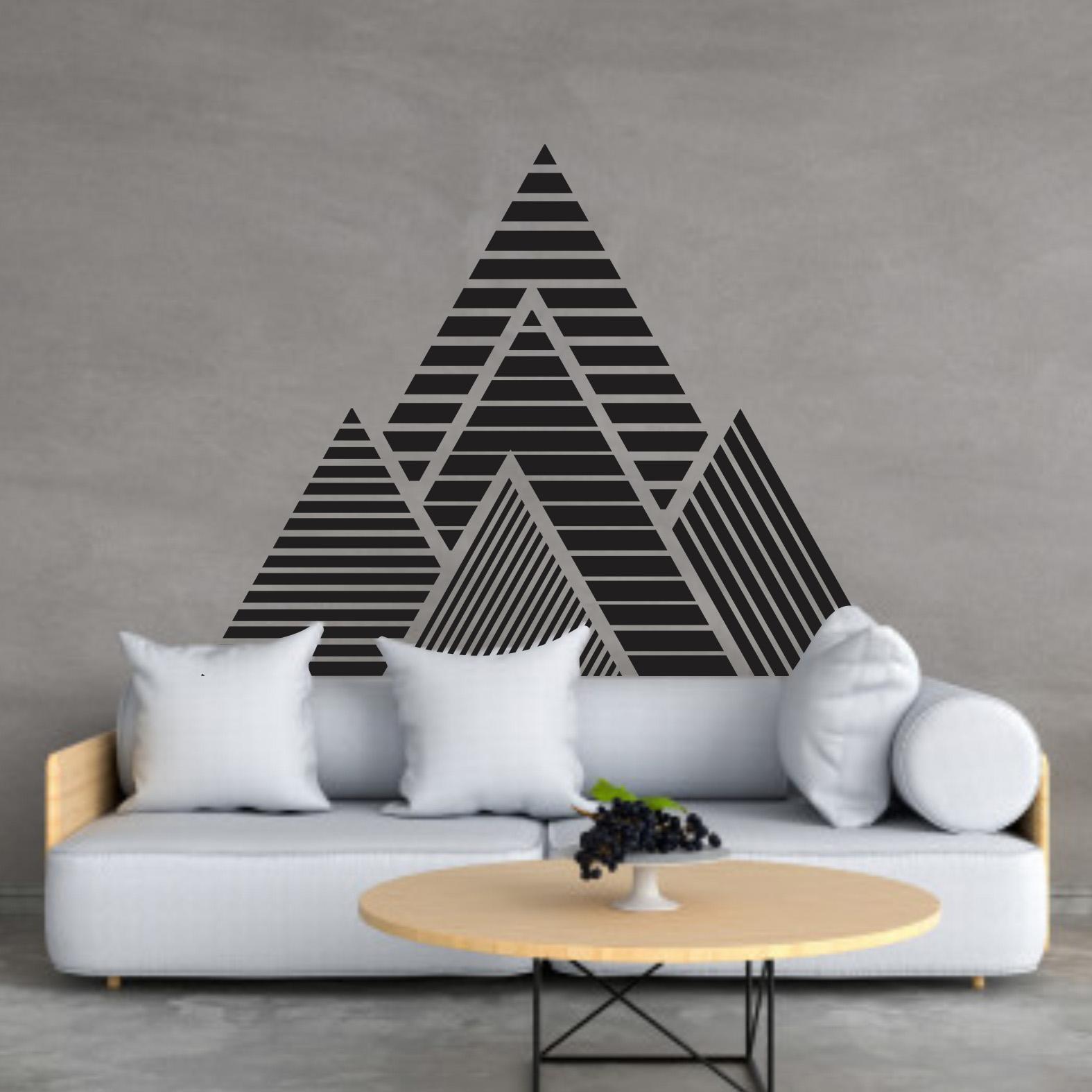 Adesivo Recortado Pirâmides