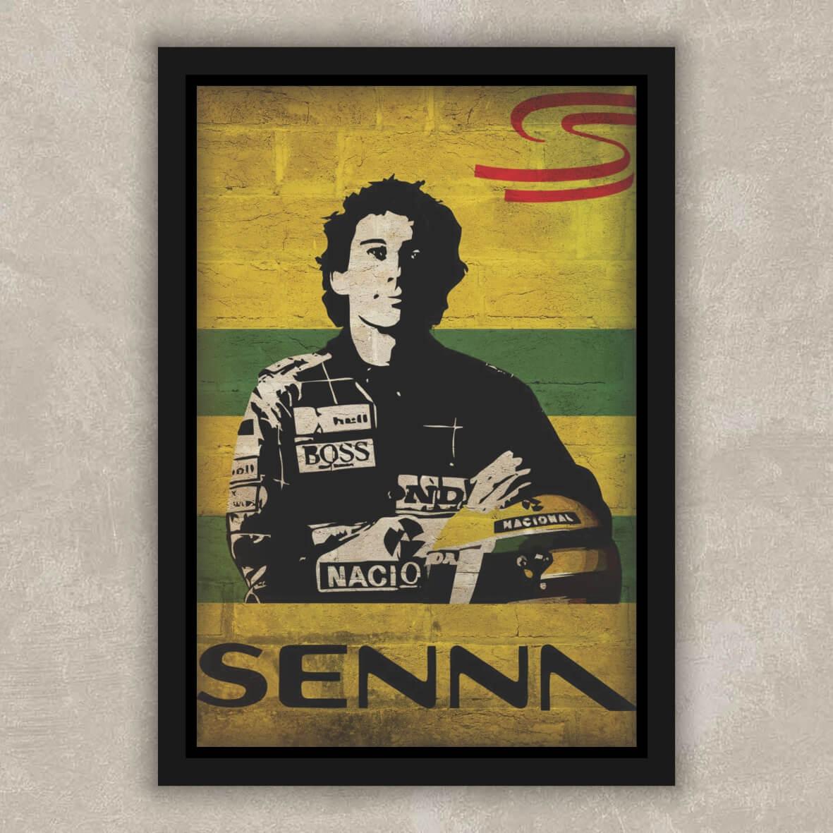 Quadro Ayrton Senna Brasil