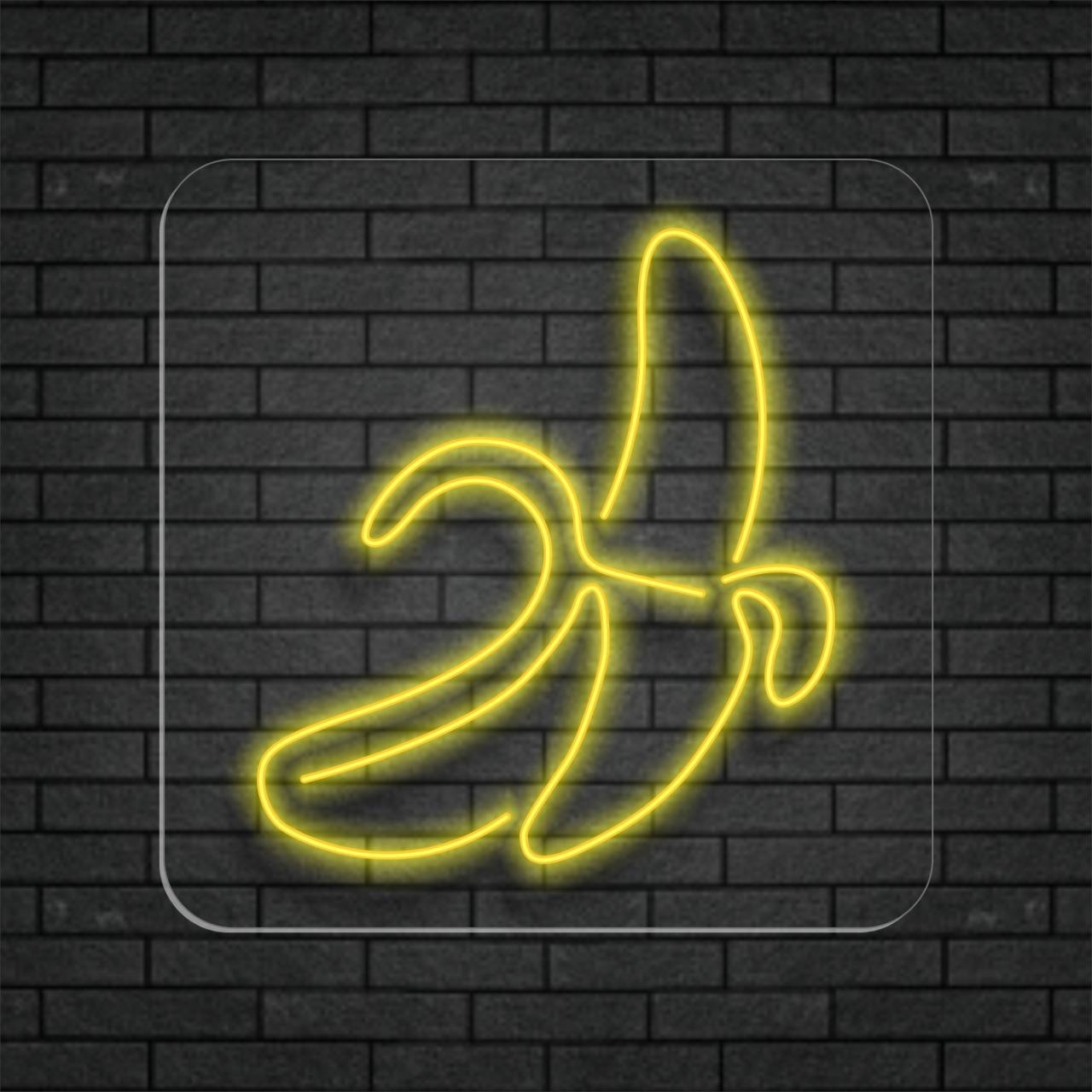 Banana em Neon Led