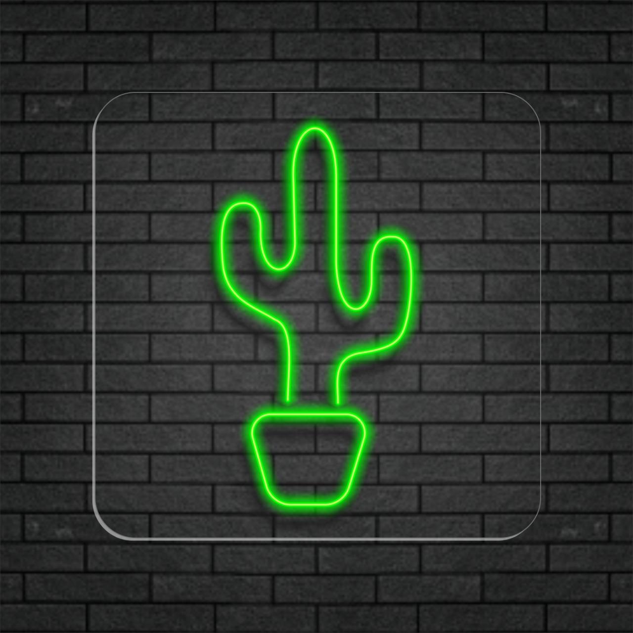 Cacto de Neon Led