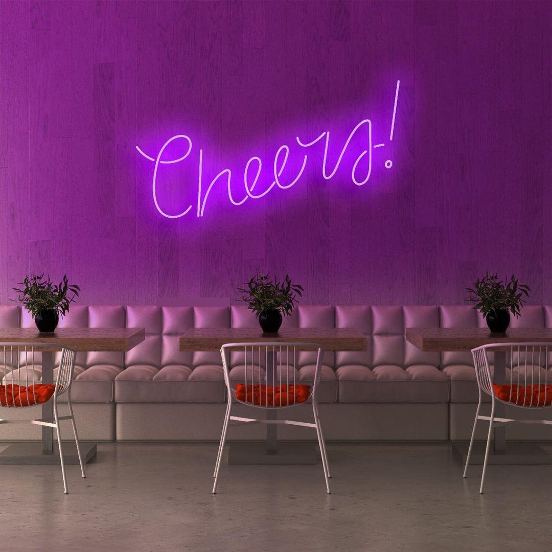 Cheers em Neon Led