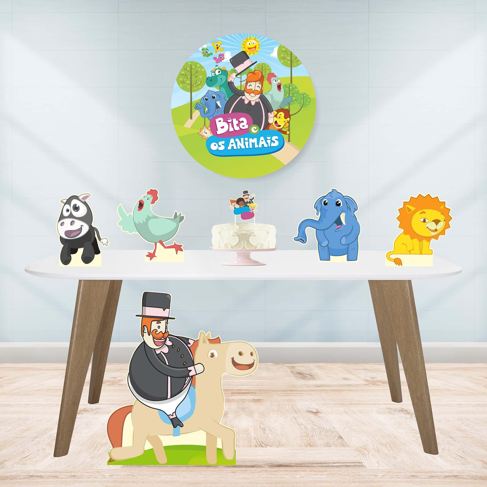 Kit de Festa Mundo Bita e os Animais