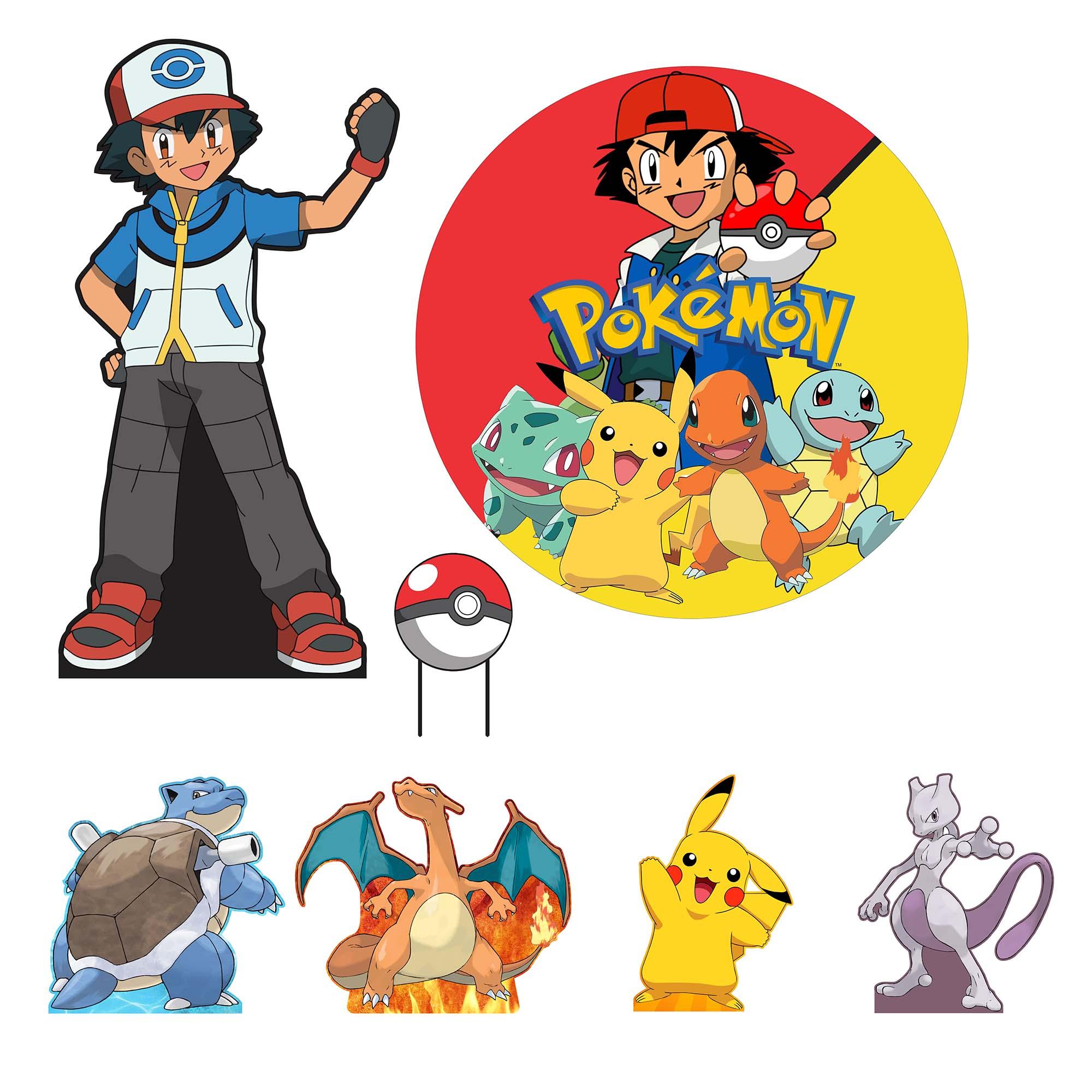 Kit de Festa Pokemon