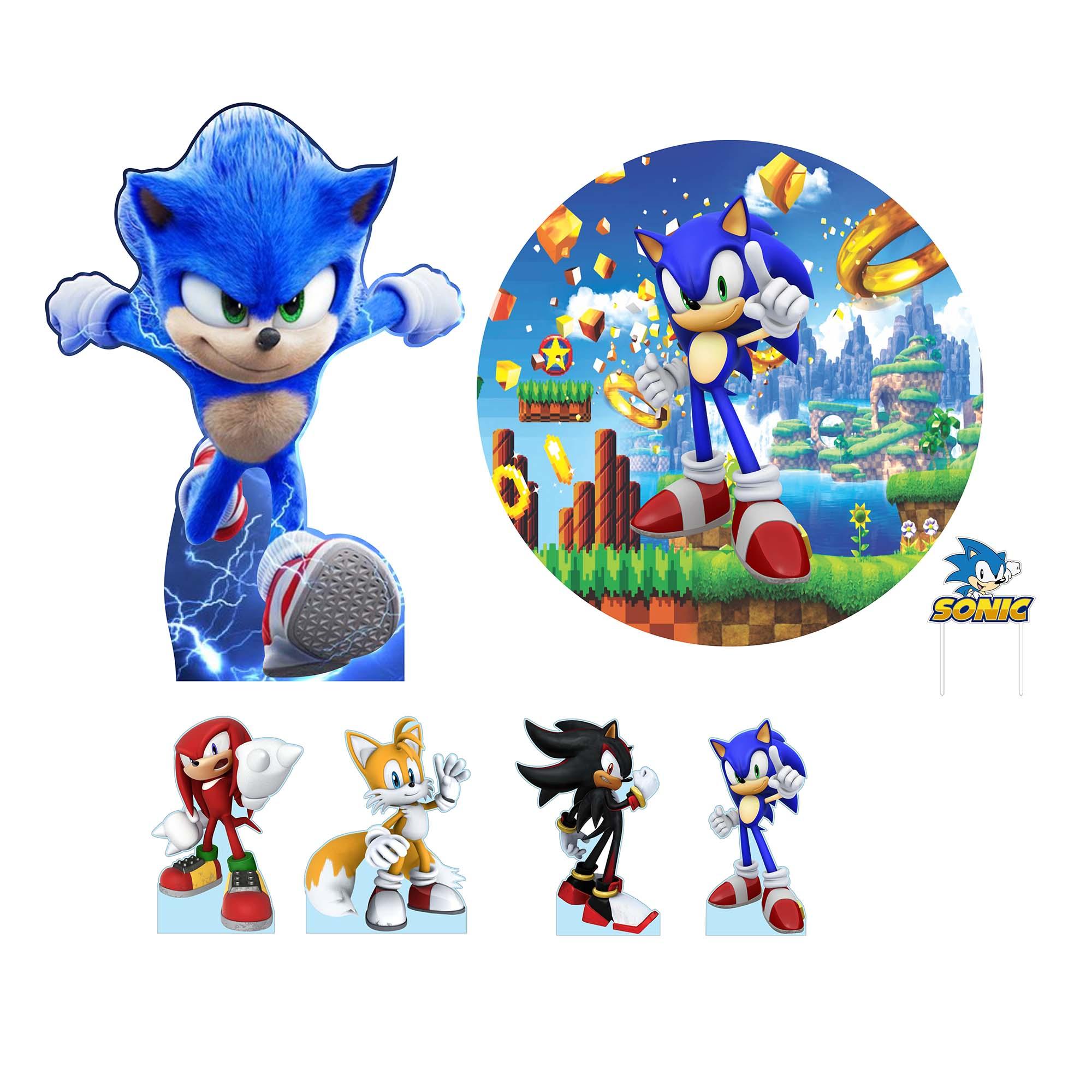 Kit de Festa Sonic
