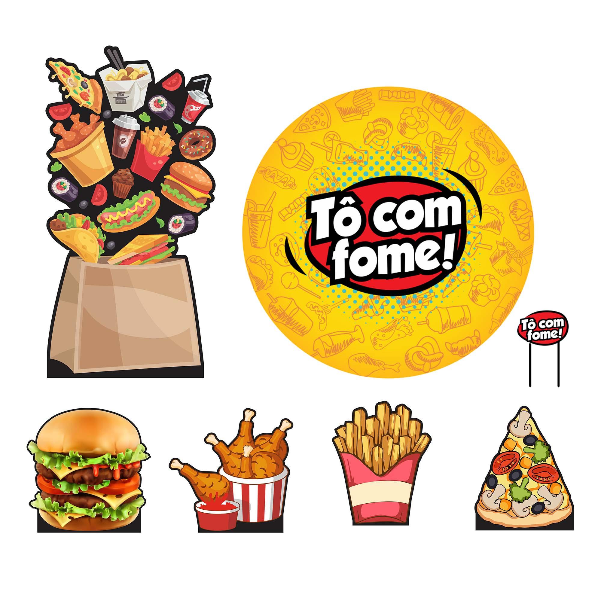 Kit de Festa To Com Fome