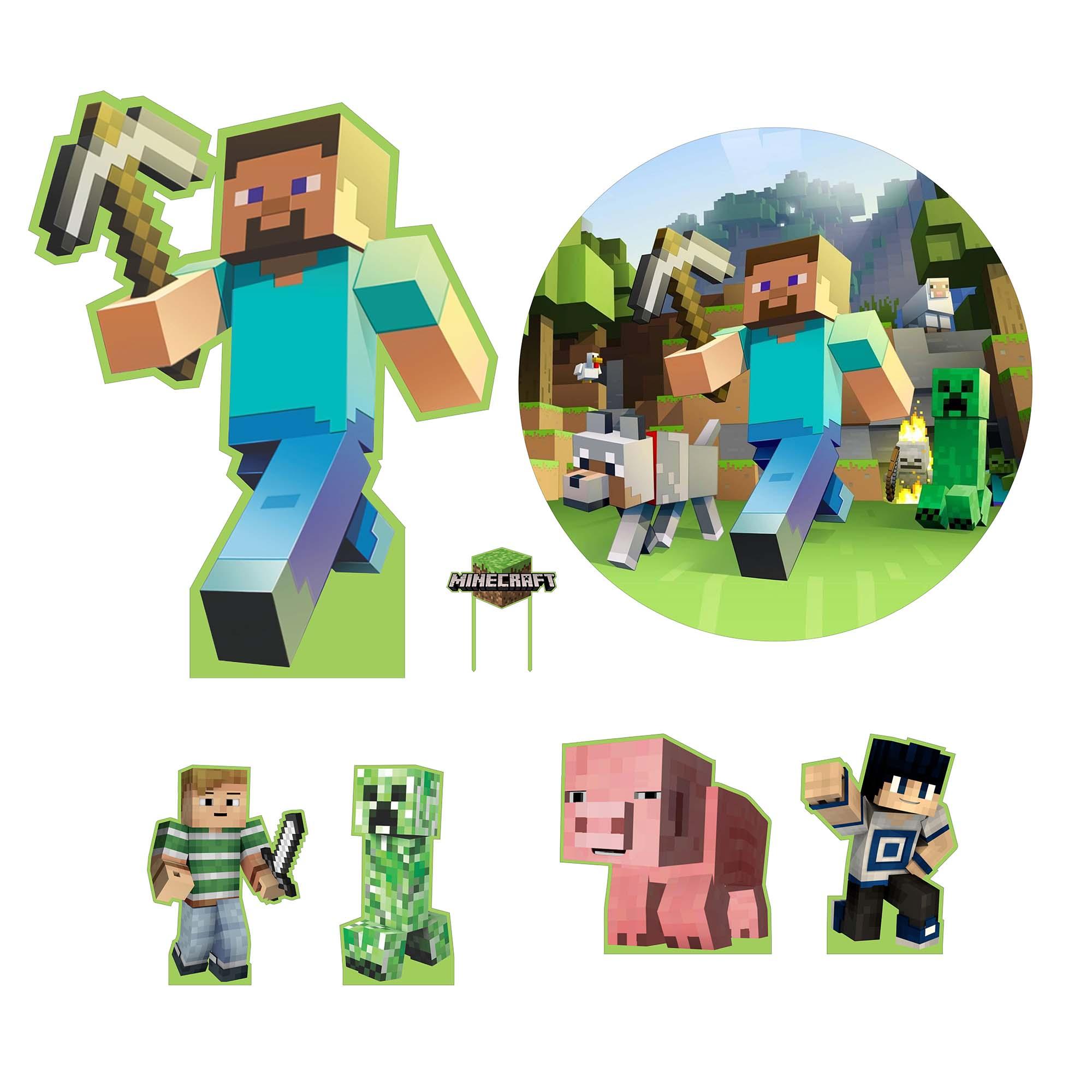 Kit de Festas Minecraft