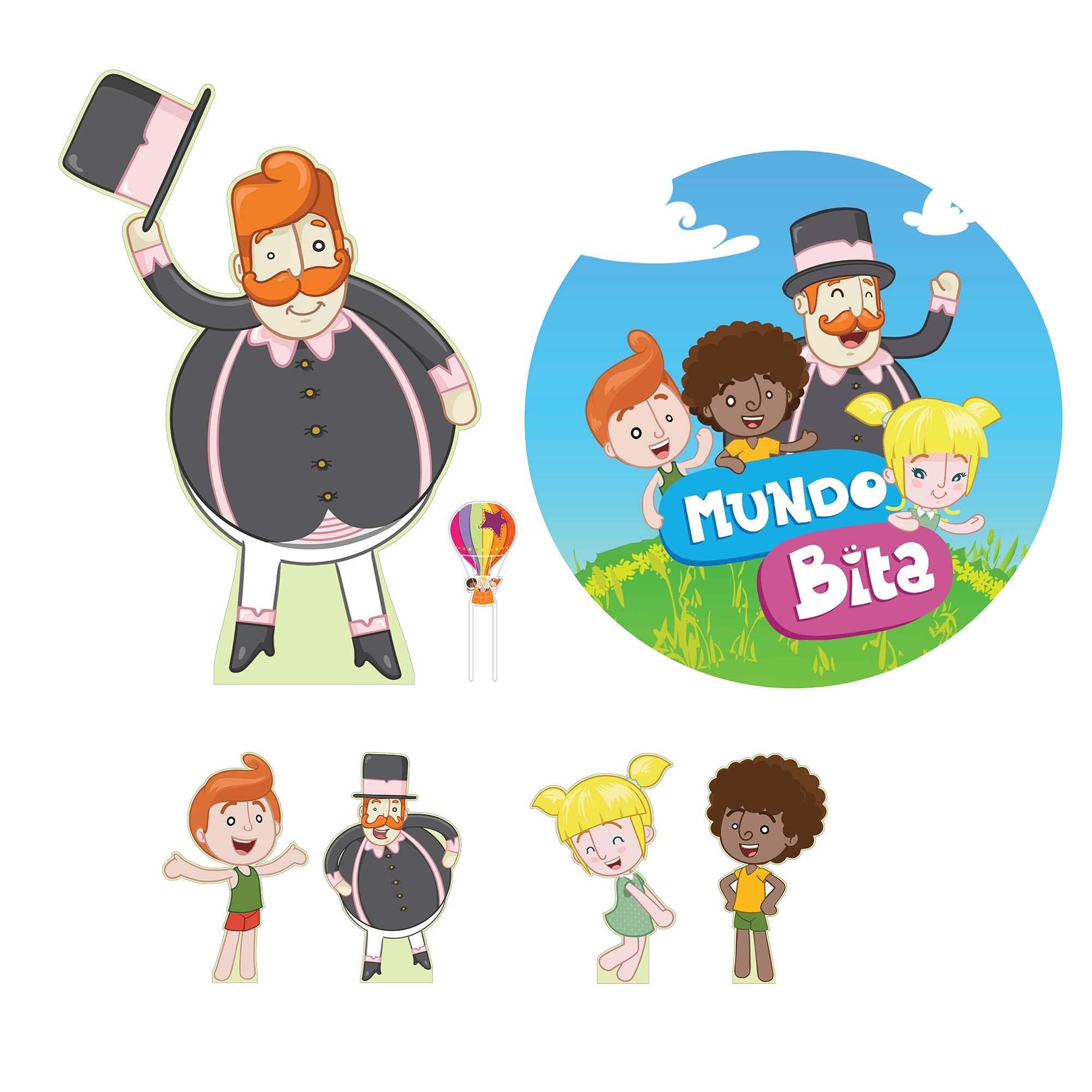 Kit de Festas Mundo Bita