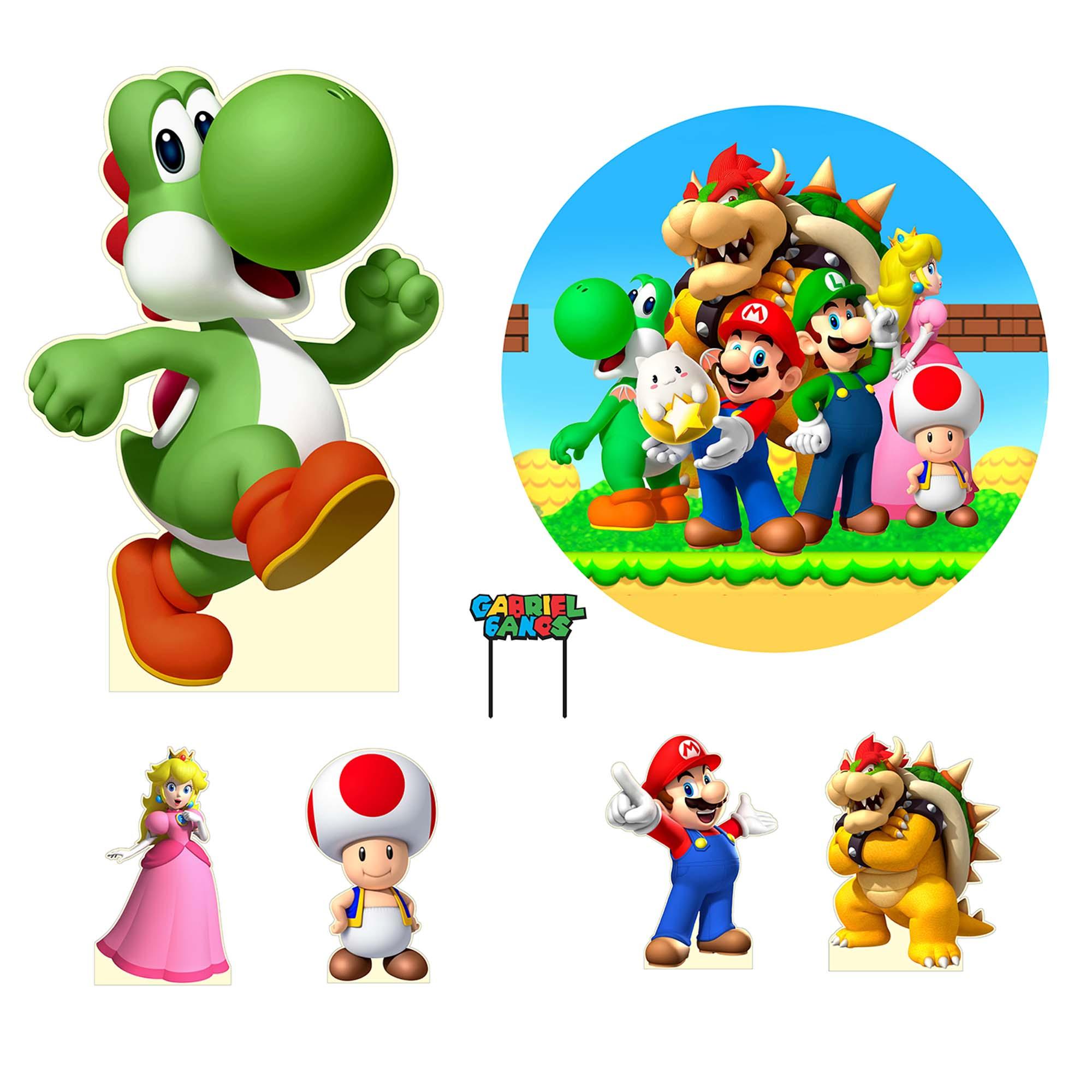Kit Festa Super Mario