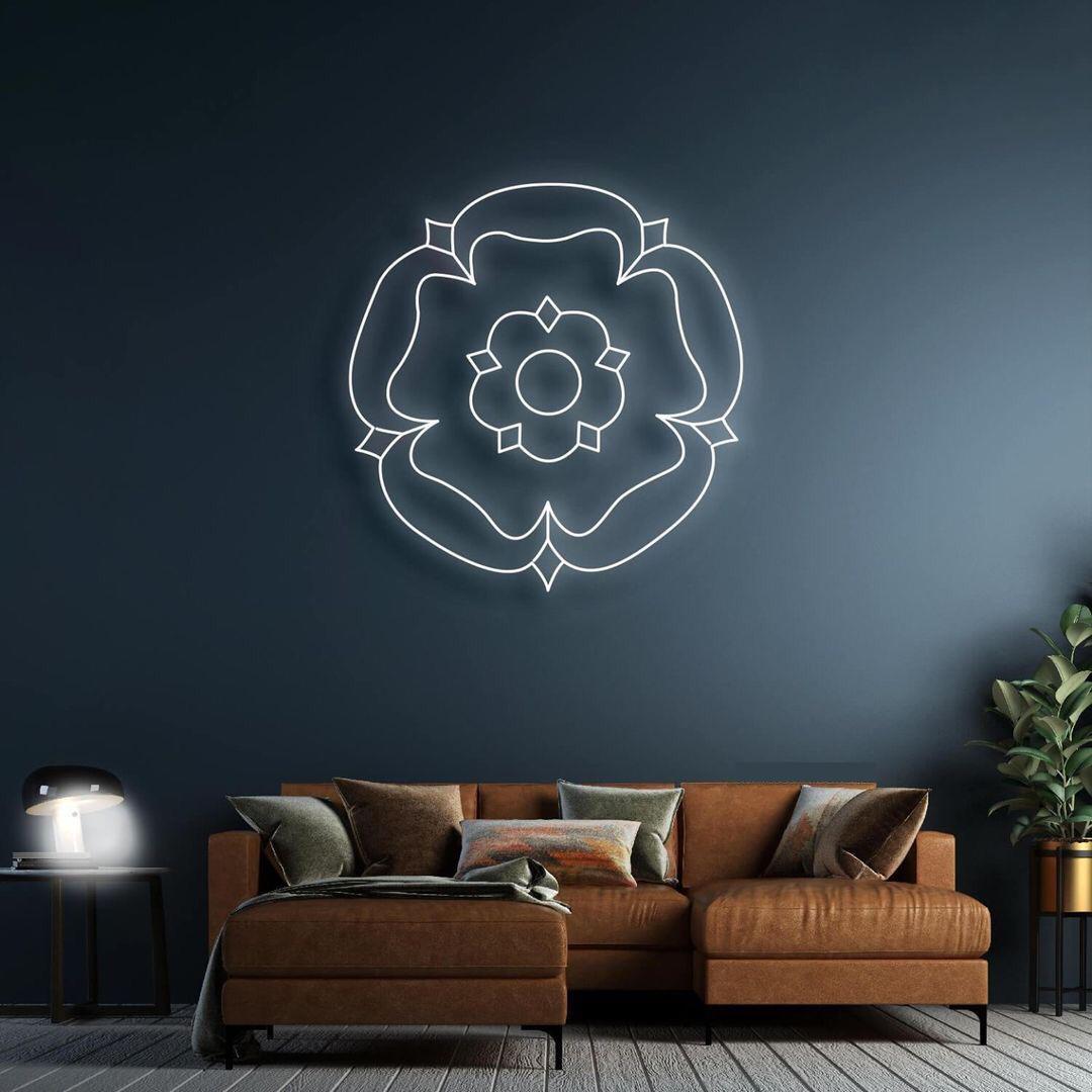 Mandala em Neon Led