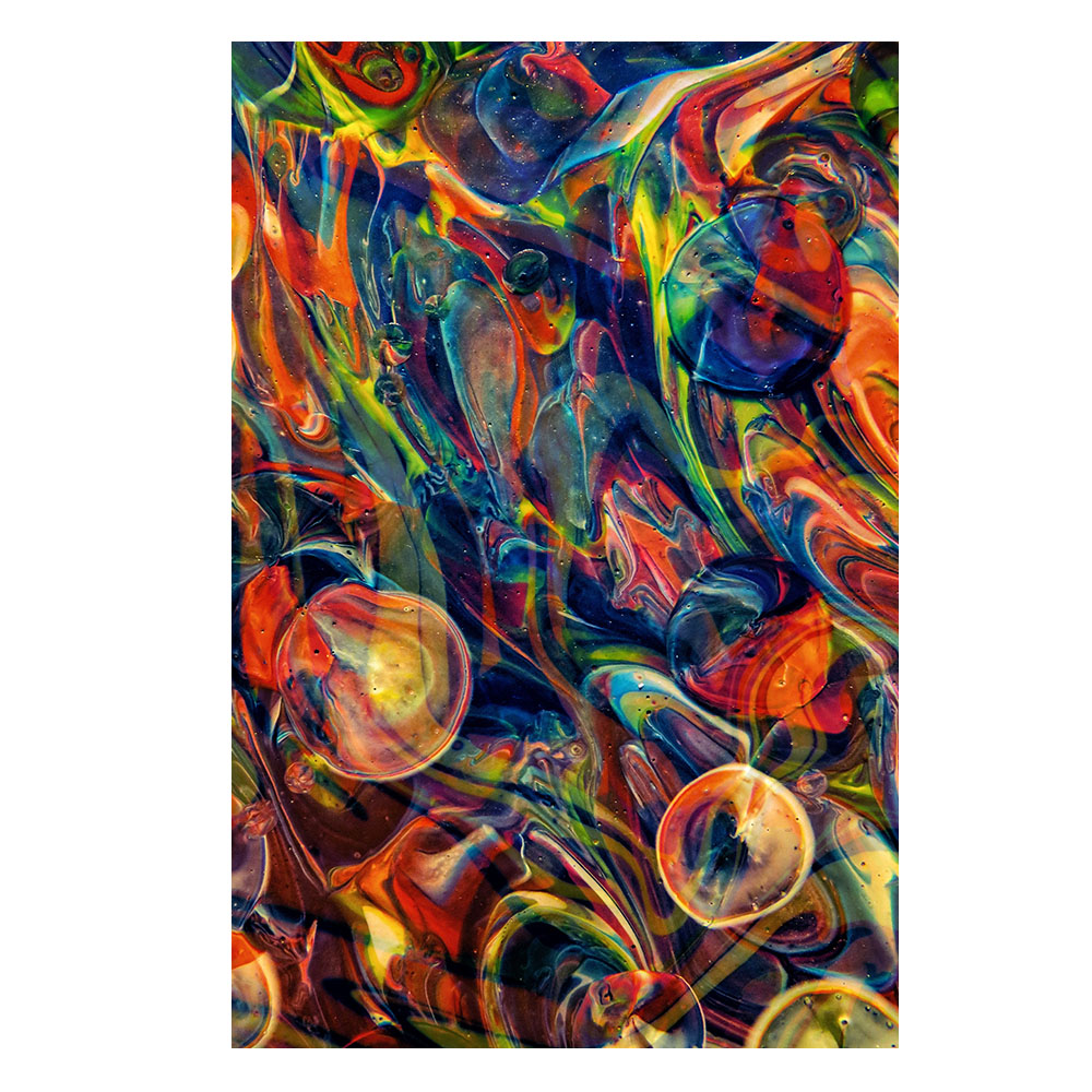 Quadro Arco-Íris Abstrato