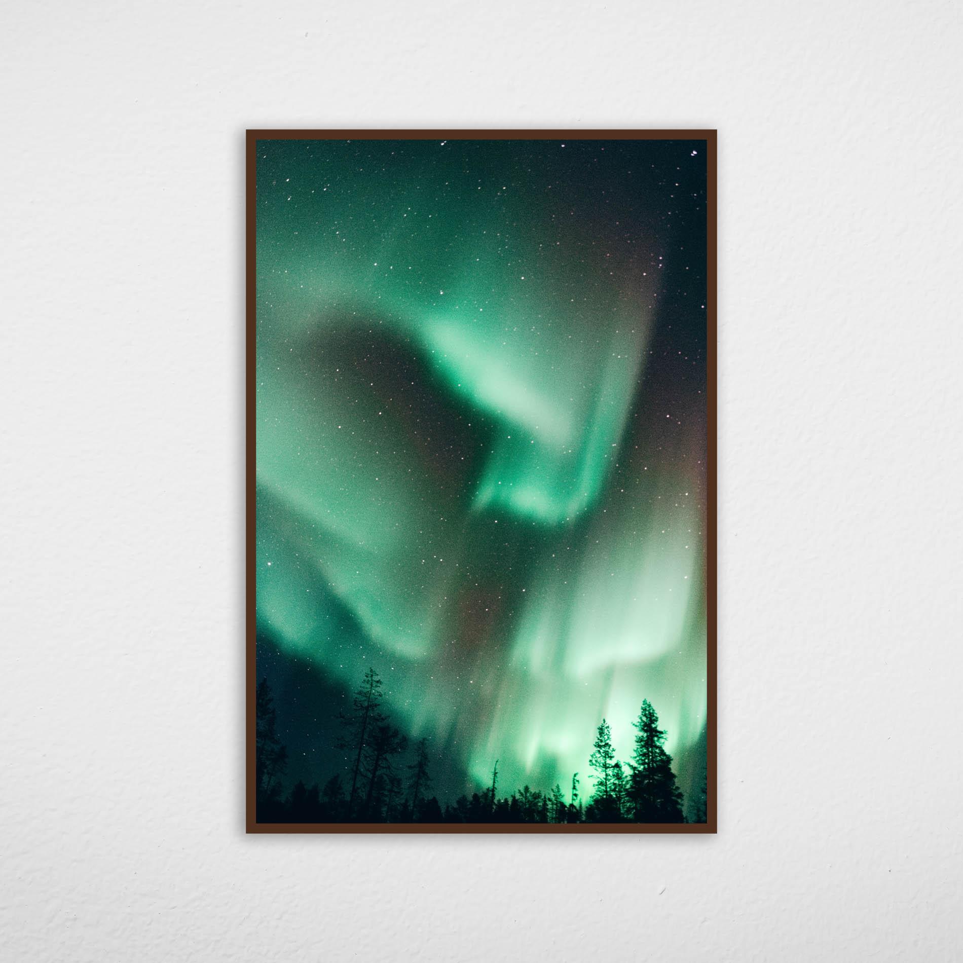 Quadro Aurora Boreal