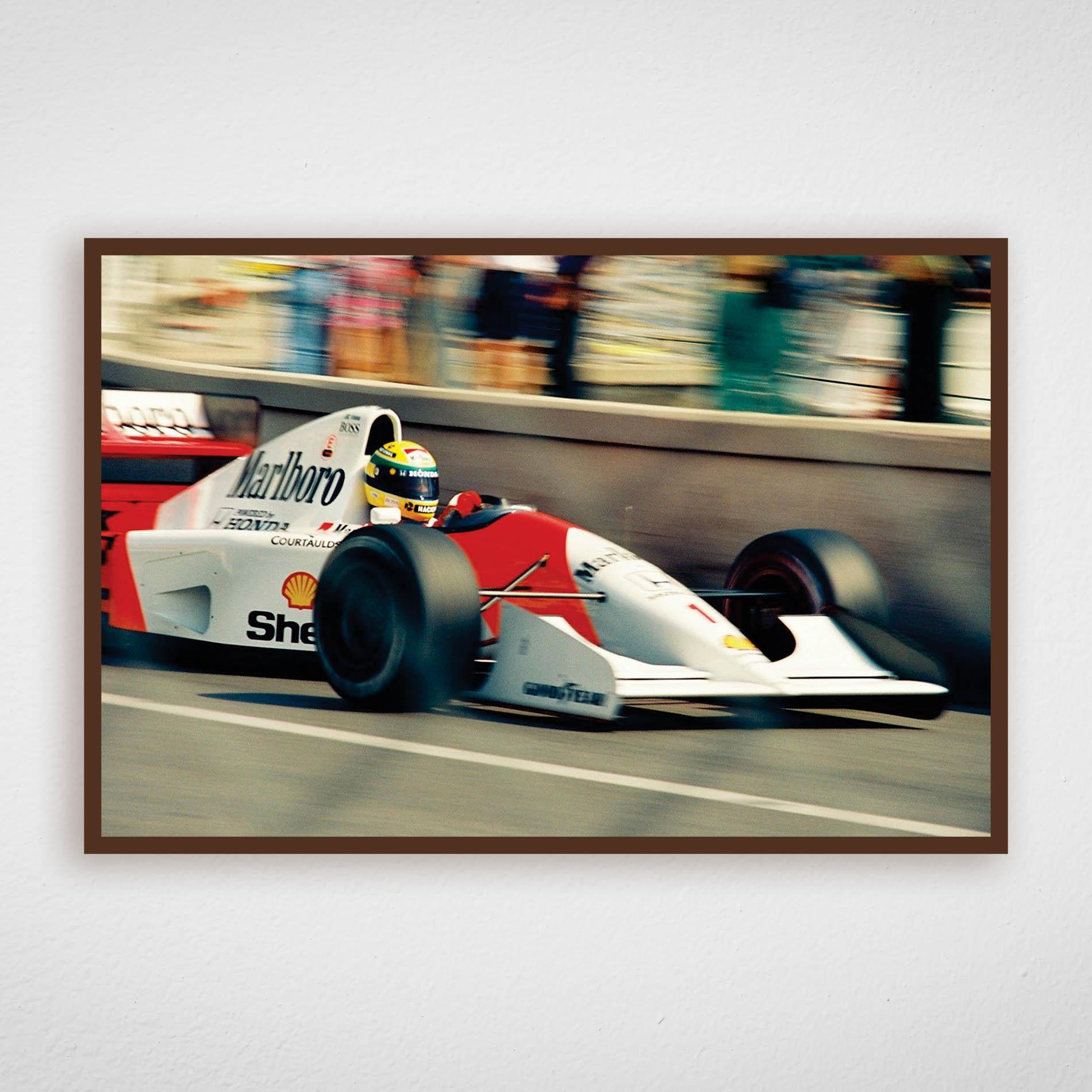 Quadro Ayrton Senna - McLaren