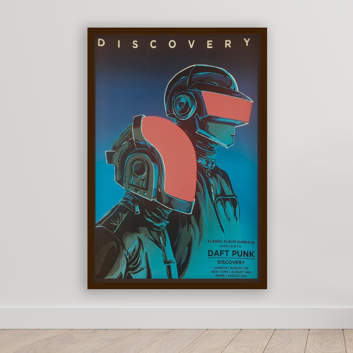 Quadro Decorativo Daft Punk