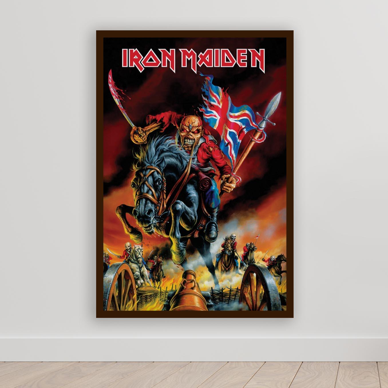 Quadro Decorativo Iron Maiden