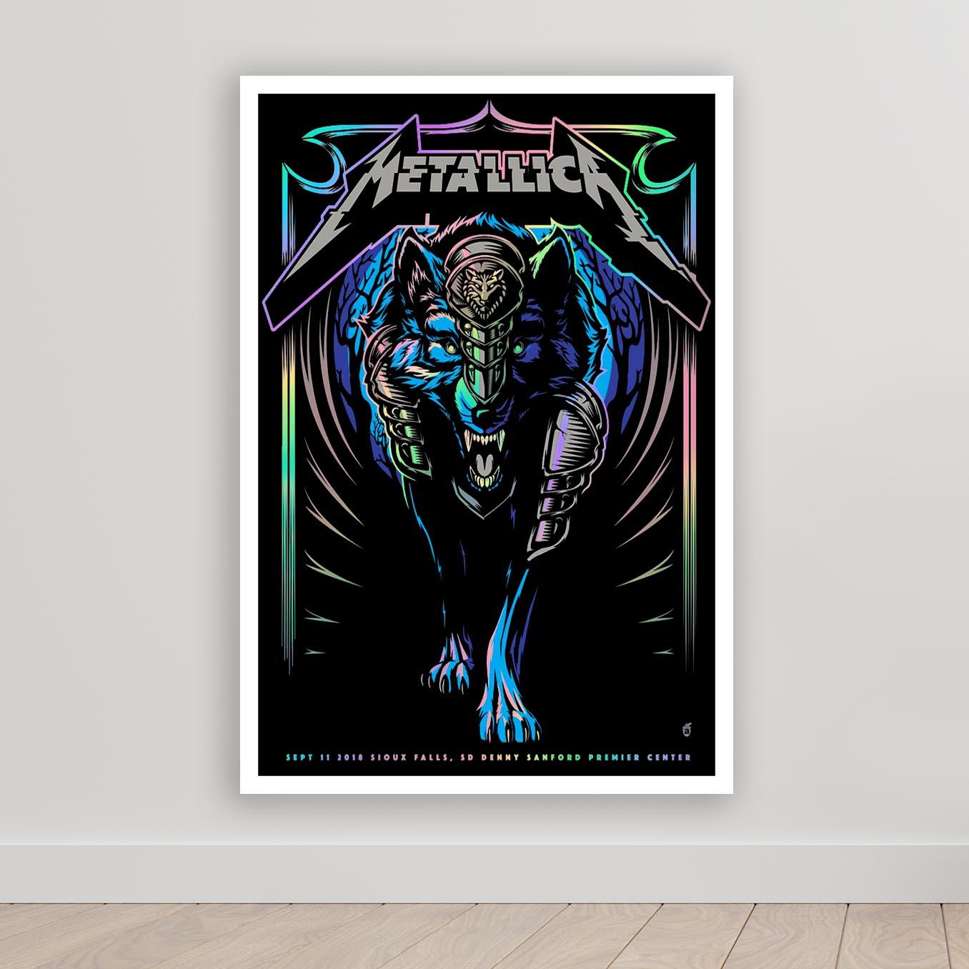 Quadro Decorativo Metallica