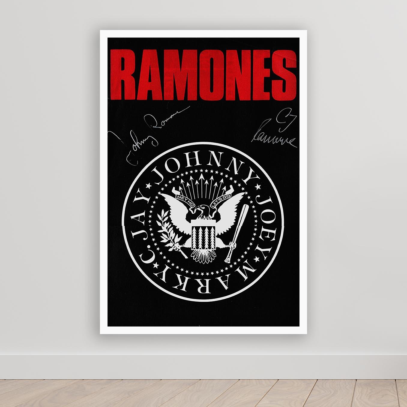 Quadro Decorativo Ramones