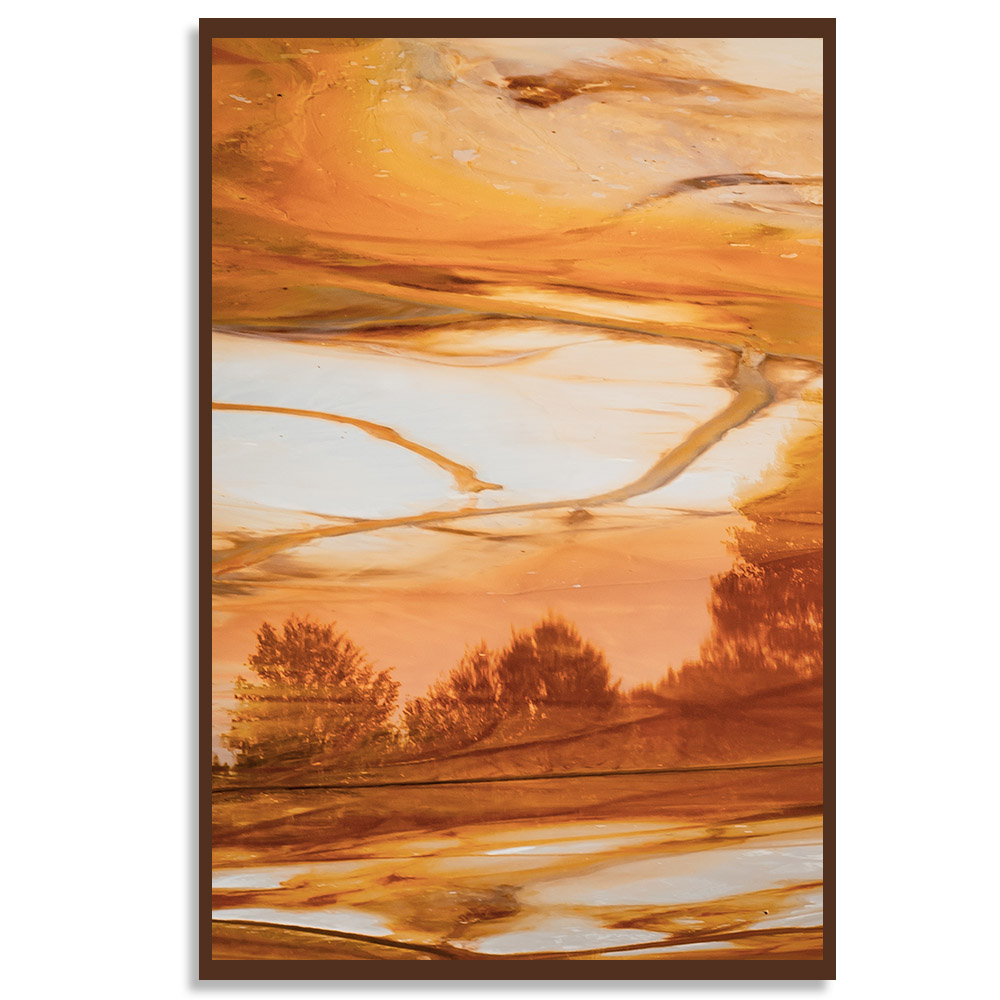 Quadro Deserto Abstrato