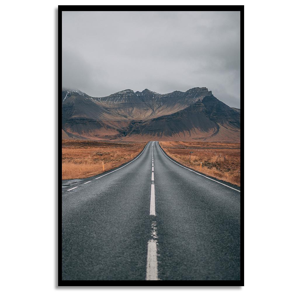 Quadro Estrada para Montanhas