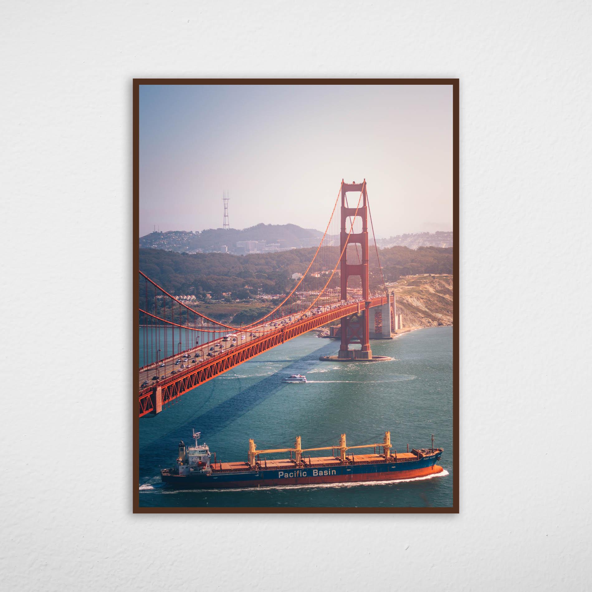 Quadro Ponte Golden Gate - San Francisco