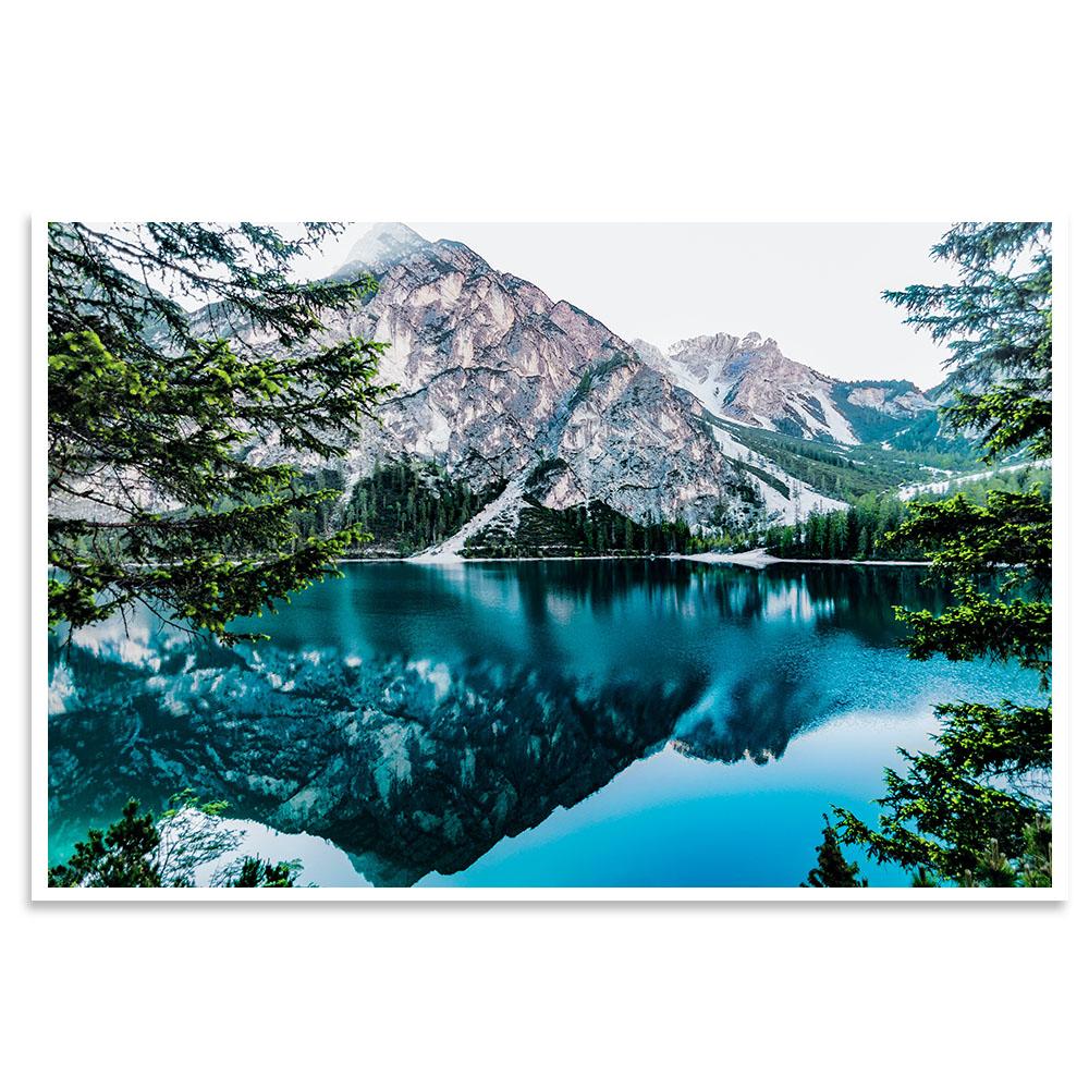 Quadro Lago de Neve