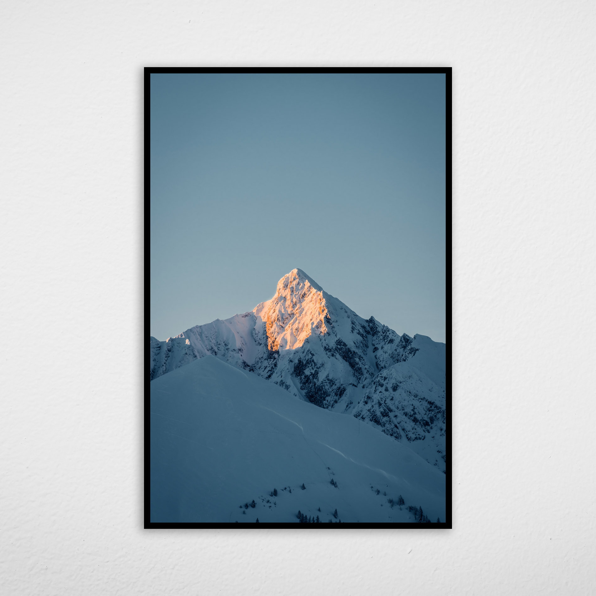 Quadro Montanha de Neve