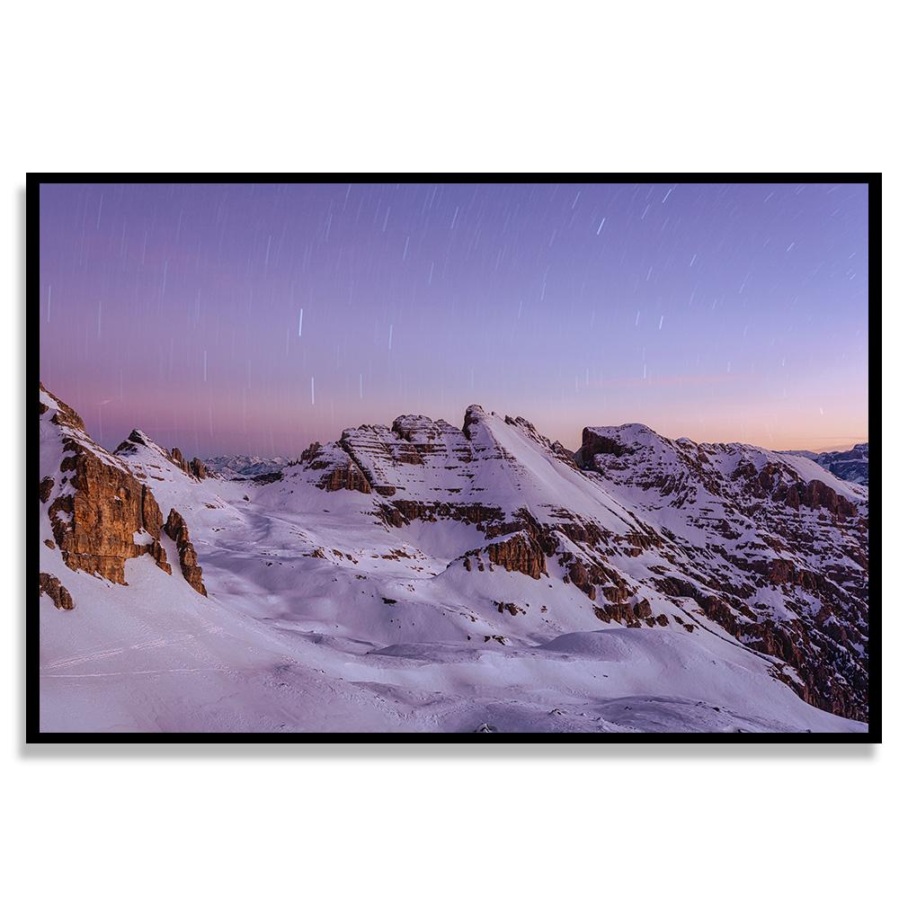Quadro Pico de Neve
