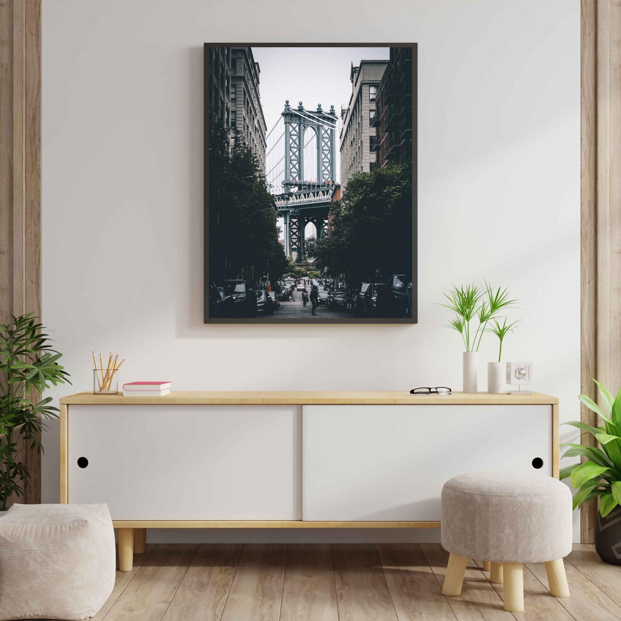 Quadro Ponte do Brooklyn - Nova York