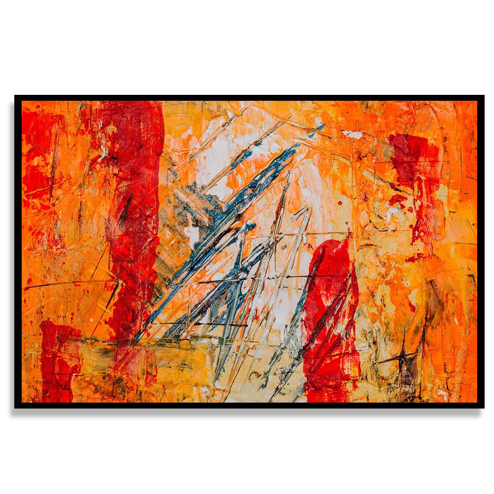 Quadro Sol Abstrato
