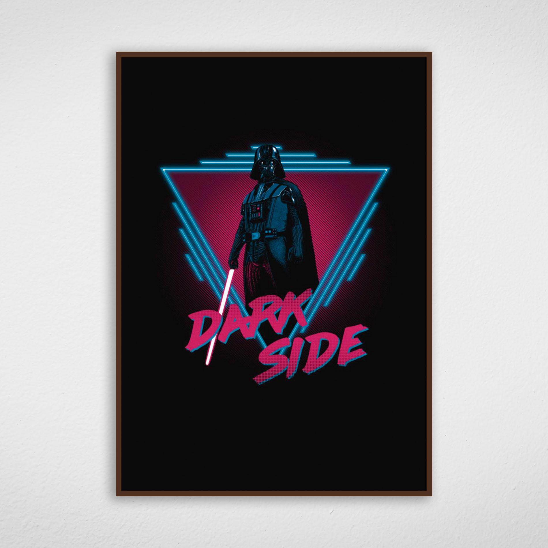 Quadro Star Wars - Darth Vader Side