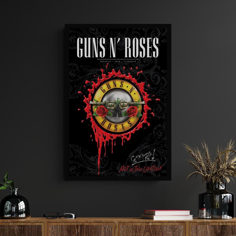 Quadros Decorativos Guns N' Roses