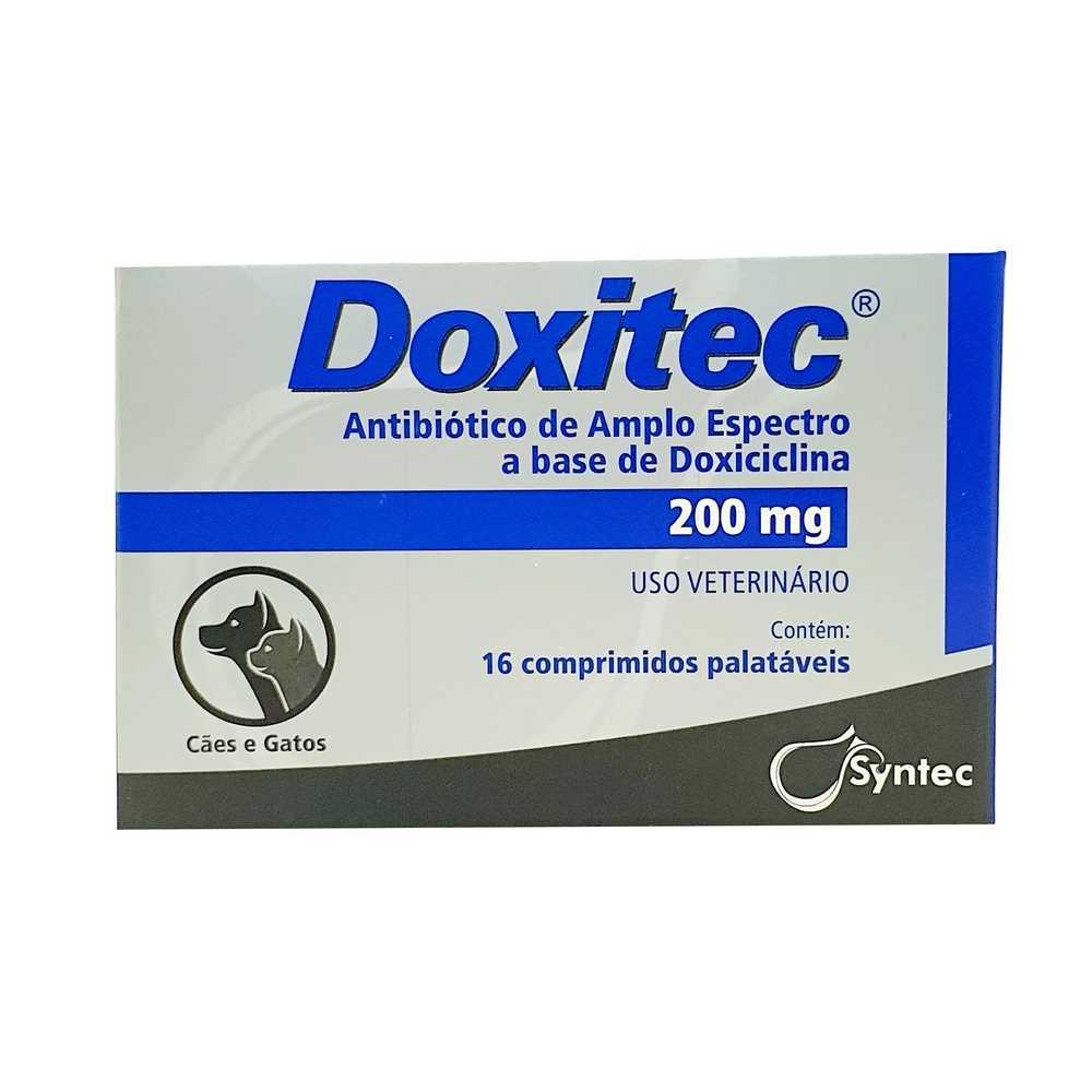 Antibiótico Doxitec 200mg  16 comp.