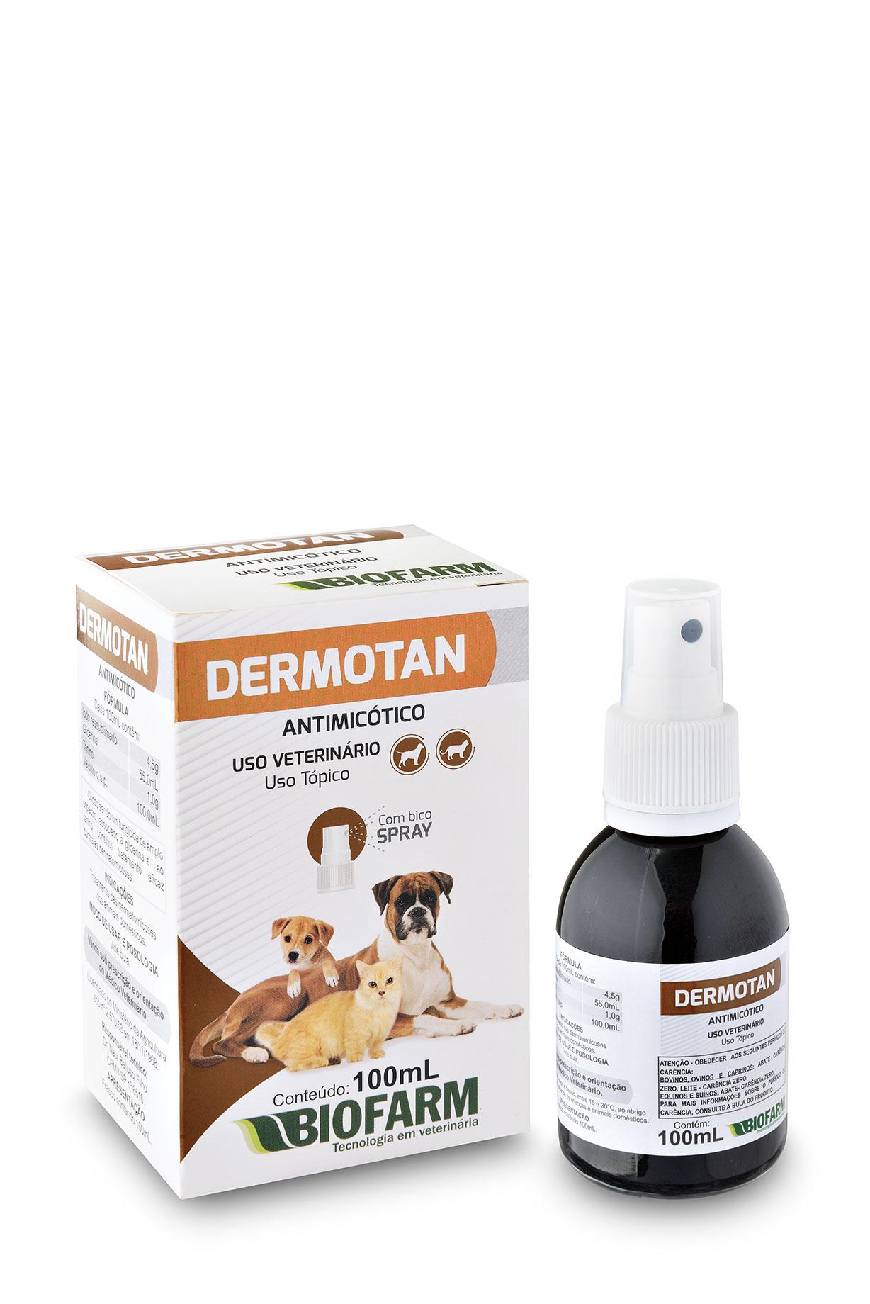 Antimicótico Dermotan - 100ml