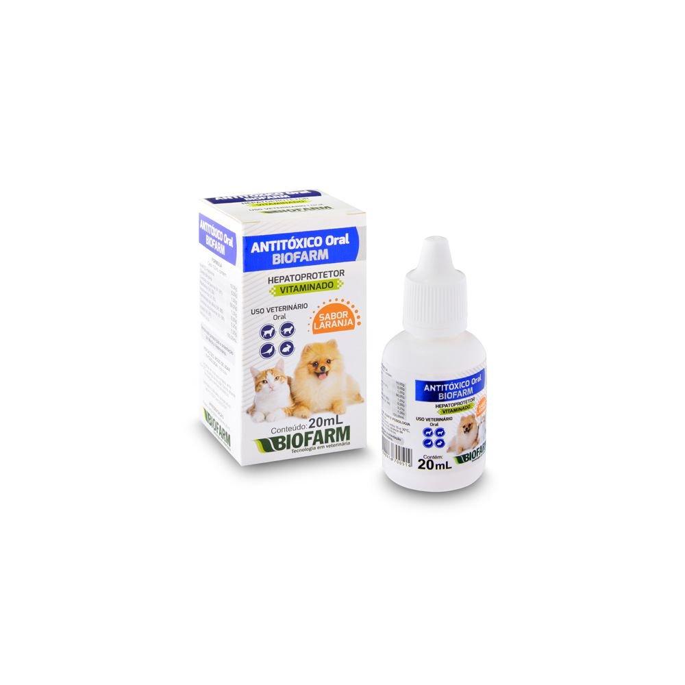 Antitoxico Oral Biofarm 20ml