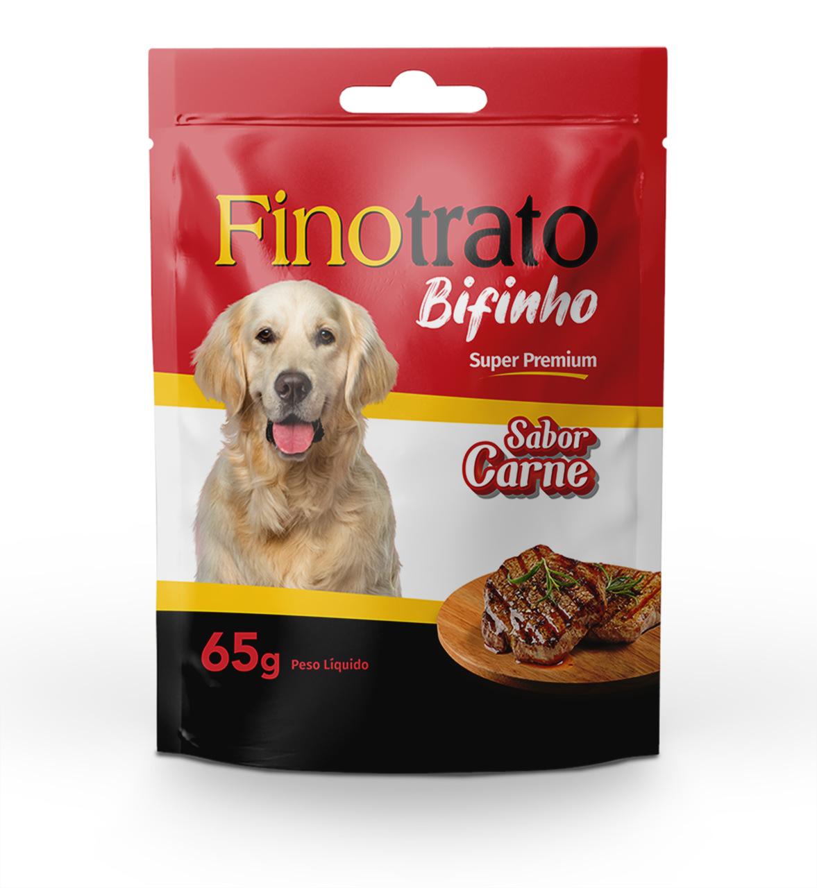 Bifinho Fino Trato Carne - 500g