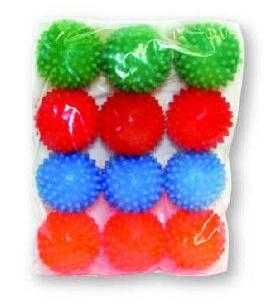 Brinquedo Bolinha de Vinil Cravo Pequeno Luna & Arreche Cores Variadas - 01 Unidade