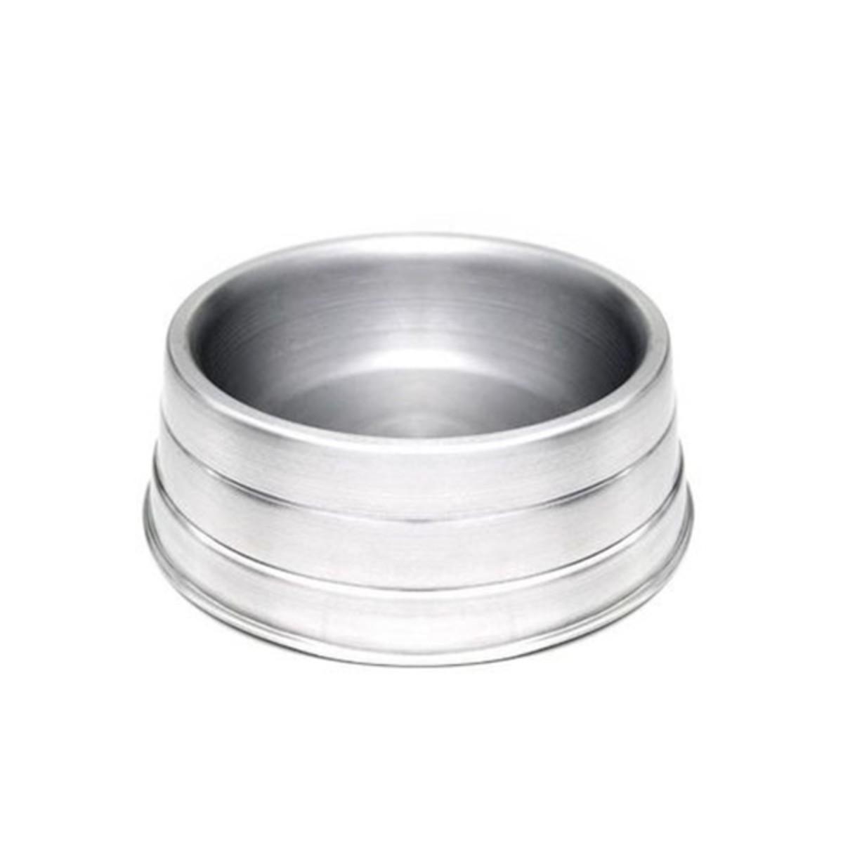 Comedouro de Alumínio Pesado Pequeno