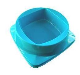 Comedouro Plástico Premium Azul Club Pet Maxx - 200ml