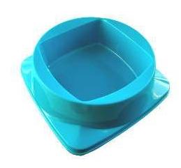 Comedouro Plástico Premium Azul Club Pet Maxx - 300ml