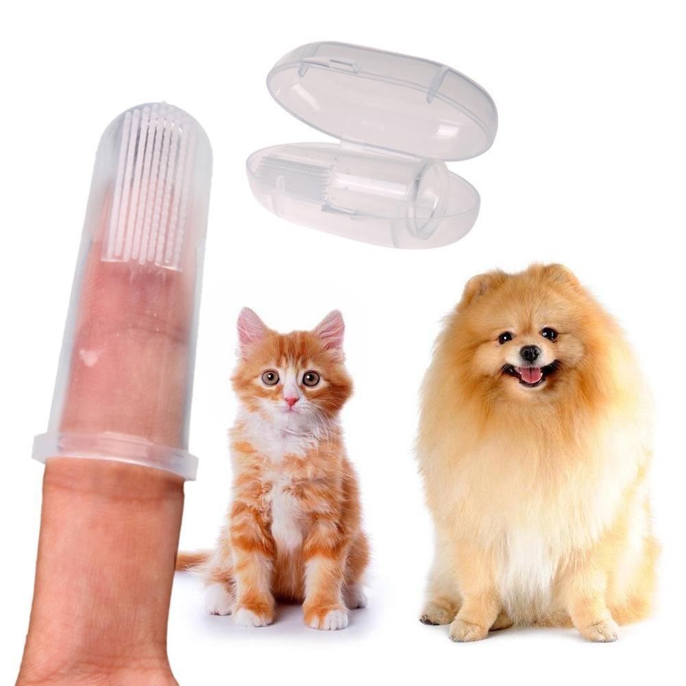 Escova de dedo de silicone